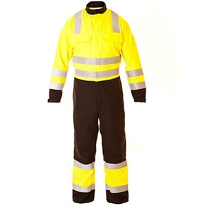 Hi Vis Overalls Two Tone for Construction