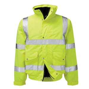 High Visibility Jacket for Refuse Collection
