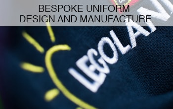"<h3>Bespoke Uniform Design & Manufacture</h3><p>At the forefront of latest innovations and technologies, our in-house designers have the ability to create and manufacture your very own bespoke corporate designs to suit your specific needs and identity - working in close contact with your marketing teams to achieve the best results.</p><p class=""more-info"">MORE INFO</p>"