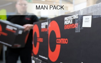 "<h3>Man Pack</h3><p>This highly efficient service offers the ability to track employees' usage as all items are individually assigned, so it makes it easy to identify 'over orders!' Each package is put together with total attention to detail and comes labelled with the name of the employee to ensure complete accuracy.</p><p class=""more-info"">MORE INFO</p>"