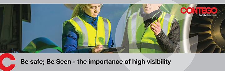Be safe; Be Seen - the importance of high visibility