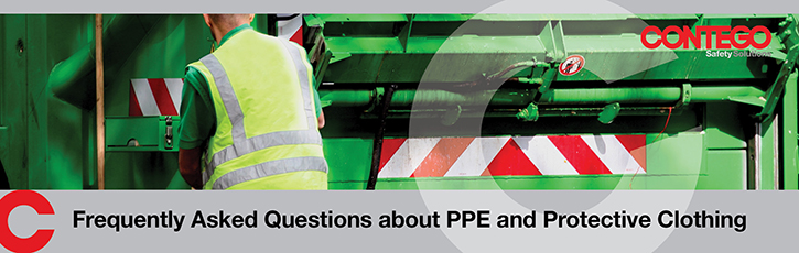 Frequently asked questions about PPE and protective clothing