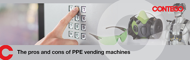 The pros and cons of PPE vending machines