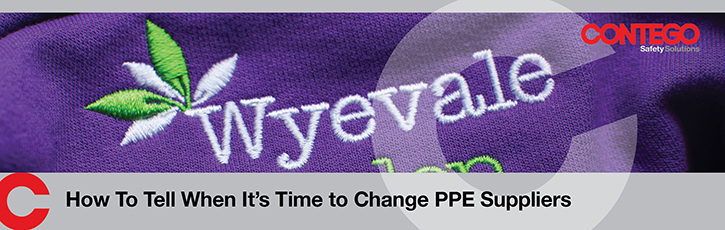 How to tell when it's time to change PPE suppliers