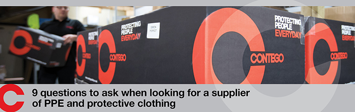 9 questions to ask when looking for a supplier of PPE and protective clothing
