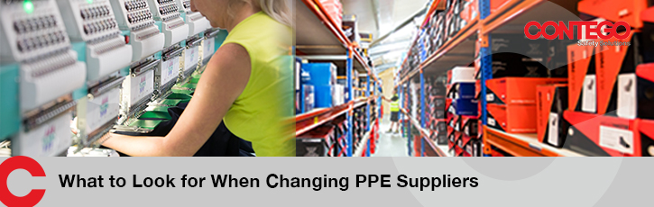 What to look for when changing PPE suppliers