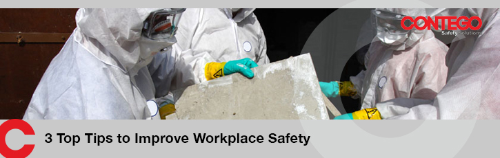 3 Top Tips to Improve Workplace Safety