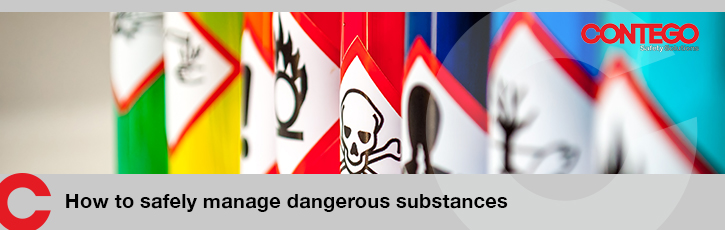 How to safely manage dangerous substances