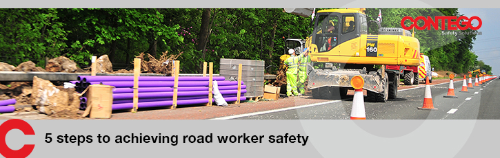 5 steps to achieving road worker safety