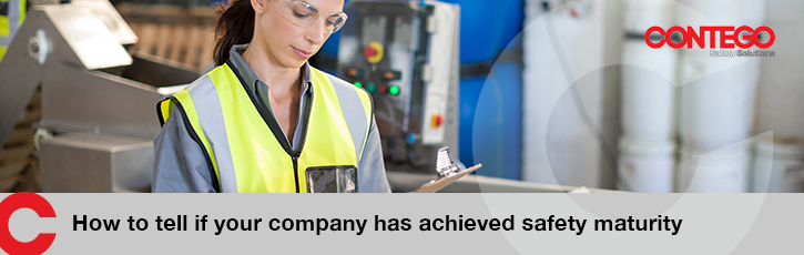 How to tell if your company has achieved safety maturity