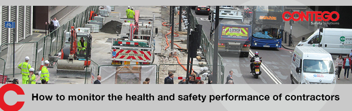 How to monitor the health and safety performance of contractors