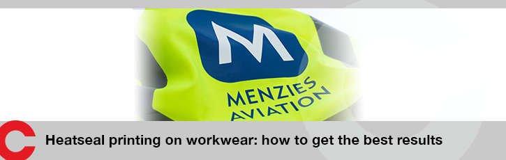 Heatseal printing on workwear: how to get the best results