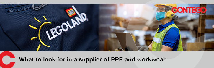 What to look for in a supplier of PPE and workwear