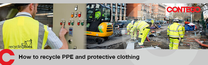 How to recycle PPE and protective clothing